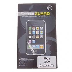 Cheap Professional Clear Anti-Glare LCD Screen Guard Protector for Samsung Galaxy S2 TV(GT-S7273T)