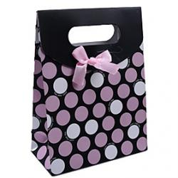 Cheap Paper Made Spots Style Gift Box(Assorted Colors)