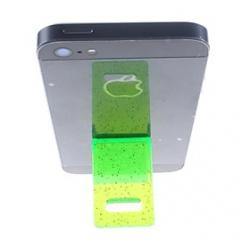 Cheap Compact Plastic Stand for iPhone  (Green)