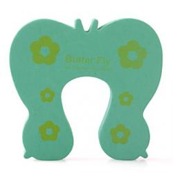 Cheap Child Safety Cartoon Door Stop Green
