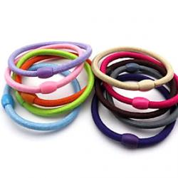 Cheap Sweet Style Practical Hair Ties(Random Color)