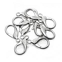 Cheap Brand-new Alloy Swivel Lobster Clasp Clip Snap Hook for Keychain Bracelet Necklace  3015MM