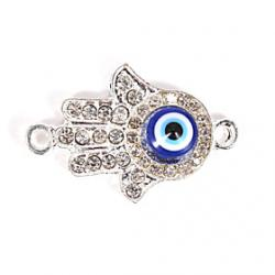 Cheap Alloy Hand Eye DIY Charms Pendants for Bracelet  Necklace