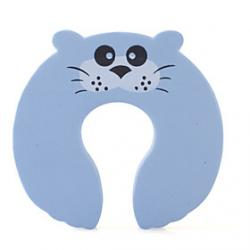 Cheap Child Safety Cartoon Door Stop Blue