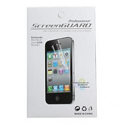 Cheap Protective Clear Screen Protector with Cleaning Cloth for HTC G14