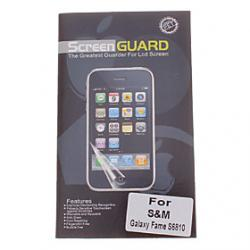 Cheap Professional Clear Anti-Glare LCD Screen Guard Protector for Samsung Galaxy Fame S6810