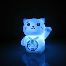 Cheap Cat Rotocast Color-changing Night Light
