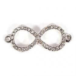Cheap Alloy Spectacle Frame Shape DIY Charms Pendants for Bracelet  Necklace