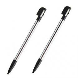 Cheap Retractable Stylus Pens for Nintendo DS Lite (Black)
