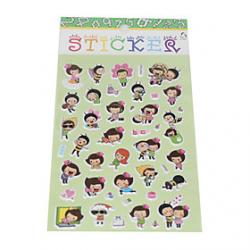 Cheap The Boy And Girl Bubble Sticker