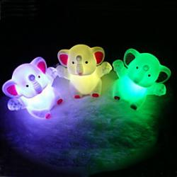 Cheap Elephant Rotocast Color-changing Night Light