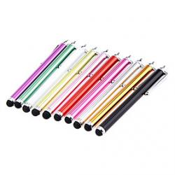 Cheap 2 Pieces Packed Clip on Capacitive Stylus Touch Pen for iPad and Others (Random Color)