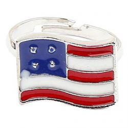 Cheap British Retro American British Flag Ring