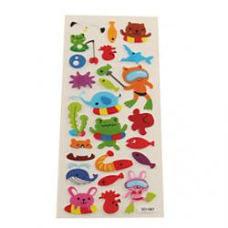 Cheap Diving Animals Early Education Bubble Sticker