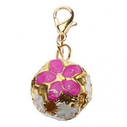 Cheap Hollow Out Flower Style Bell Collar Charms for Dogs Cats