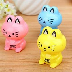 Low Price on Cat Shaped Manual Pencil Sharpener(Random Color)