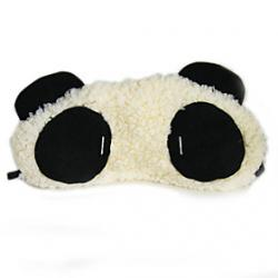 Cheap Plush Panda Pattern Eyeshade