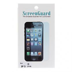 Cheap High Quality Full Body Film Gurad Set with Cleaning Cloth for iPhone 5