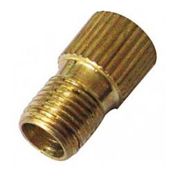 Cheap Presta to Schrader Valve Adapter Converter (Gold)