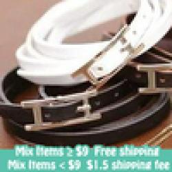 Cheap Fashion Punk Distinctive Style Motile Sport Belt Style Leather Bracelet Fashion Jewelry For Women and Men Wholesale  K46