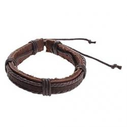 Low Price on Binding Cow Leather Cord Bracelet