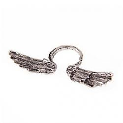 Cheap European And American Punk Retro Wave Of People Angel Wings Ring