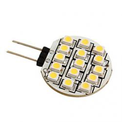Cheap G4 3528 SMD 15-LED 0.36W Warm White Light Bulb for Car (DC 12V)