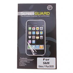 Cheap Professional Clear Anti-Glare LCD Screen Guard Protector for Samsung Galaxy Y Plus S5303