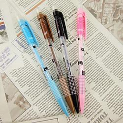 Low Price on 0.7MM Cartoon Cat Pattern Automatic Pencil(Random Color)
