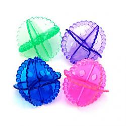 Cheap Colorful Transparent Laundry Ball(Random Colors)
