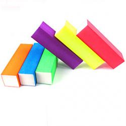 Cheap 1PCS Luminous Candy Color Buffer Block (Random Color)