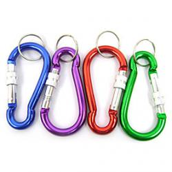 Cheap Gourd Type Locking Carabiner Random Color