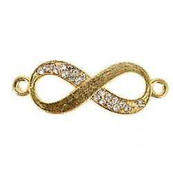 Low Price on Rhinestone Infinity DIY Charms Pendants for Bracelet  Necklace