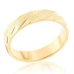 Cheap Mens Lmitation Gold Triangular Geometric Pattern Rings(Random Delivery)