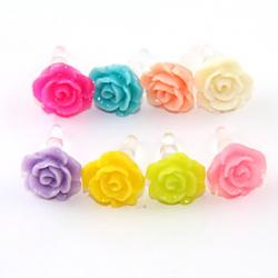 Low Price on Joyland Pure Color Rose Anti-Dust Earphone Jack (Assorted Color)