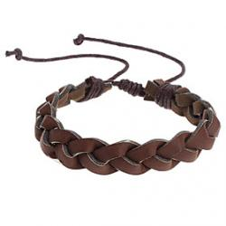 Cheap Brown Braided Bracelet