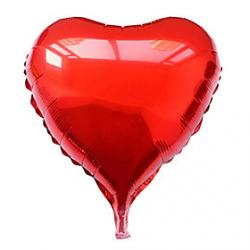 Cheap 10 Inch Purple Heart Aluminium Membrane Valentine's Day Party Balloon