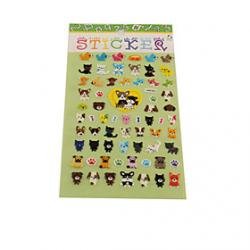 Cartoon Dog Series Stereo Bubble Sticker Sale