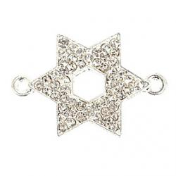 Low Price on Rhinestone Hexagram DIY Charms Pendants for Bracelet  Necklace