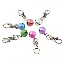 Cheap Ringing Bell Dog Collar Necklace Pendant (Random Colors)