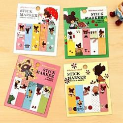 Cheap Lovely Jack Baer Self-stick Note(1PCS 80Page)