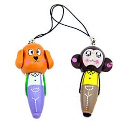 Wooden Cartoon Animal Ballpoint Pen(Random Color) Sale