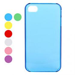 Cheap Ultra Slim Crystal Hard Back Case for iPhone 4 and 4S (Assorted Colors)