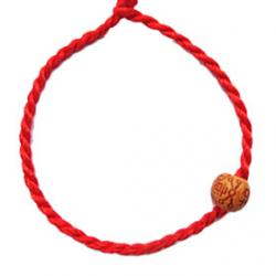 Cheap Chinese Red classic Red String Bracelet with Chinese Characters