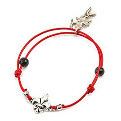 Cheap Fashion Handwoven Chrome Hearts Adjustable Bracelet(Random Color)