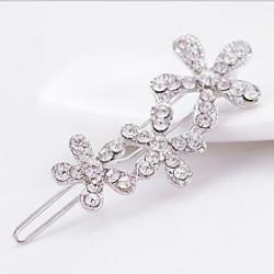 Low Price on Lucky Doll Diamond Flower Hair Clip