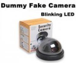 Cheap Emulational Fake Decoy Dummy Security CCTV DVR for Home DOME Camera with Red Blinking LED