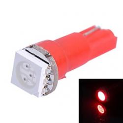 Cheap 0.25W T5 14LM 1x5050SMD LED Red Light for Car Indicate Dashboard Width Lamps (DC 12V  1Pcs)