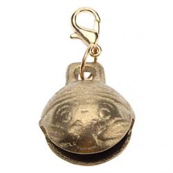 Cheap Mysterious Tiger Head Style Bell Collar Charms for Dogs Cats