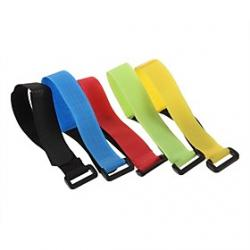 Cheap The Velcro Buckle Battery Cable Tie  (20 MM Wide  27 CM Long) Red Blue Green Yellow Black